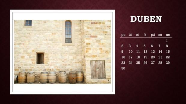 Kalendář duben